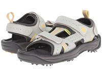 Footjoy Golf Sandal All Over Cloud Yellow Trim Close Out Women's Sandals Gray