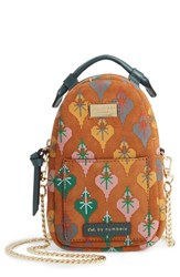Ted Baker London Colour By Numbers Nave Mini Convertible Backpack Brown Tan