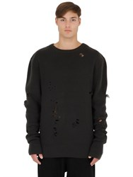 Yeezy Destroyed Wool Sweater