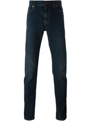 Saint Laurent Classic Slim Jeans Blue