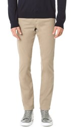 Vince Essential Soho 5 Pocket Twill Jeans Khaki
