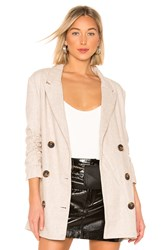 Line And Dot X Revolve Bon Jacket Beige