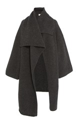 Lauren Manoogian Capote Draped Coat Grey