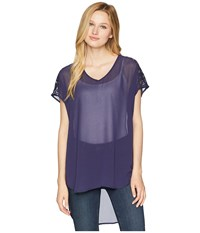 Ariat Susanna Top Eclipse Short Sleeve Pullover Olive