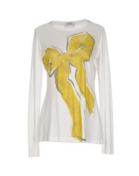Moschino Cheap And Chic Moschino Cheapandchic Topwear T Shirts Women Ivory