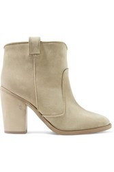 Laurence Dacade Pete Suede Ankle Boots Beige