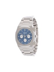 D1 Milano Chronograph Ionic Blue 41.5Mm Silver