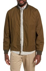J.Crew Relaxed Straight Hem Bomber Jacket Rustic Olive