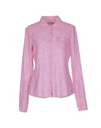 Tommy Hilfiger Denim Shirts Shirts Women Light Purple