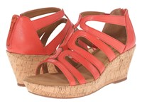 Softspots Redmond Coral Goat Leather Pull Up Women's Wedge Shoes