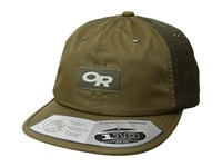 Outdoor Research Performance Trucker Trail Fatigue Caps Green