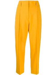 Dorothee Schumacher Front Pleated Cropped Trousers 60