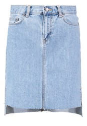 Dr. Denim Dr.Denim Minnie Skirt Light Retro Light Blue Denim