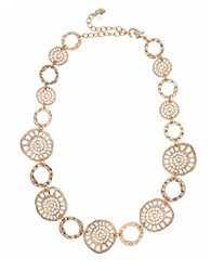 Lonna And Lilly Worn Coin Collar Necklace Gold