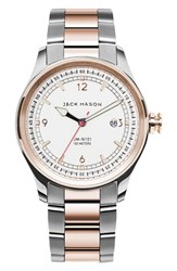 Jack Mason Brand Men's Nautical Bracelet Watch 42Mm