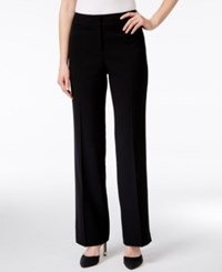 Kasper Curvy Fit Pants Black