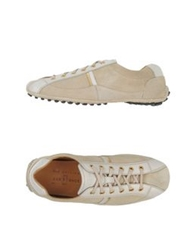 Car Shoe Carshoe Low Tops And Trainers Beige
