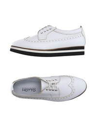 Alexander Hotto Footwear Lace Up Shoes Women White