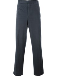Dolce And Gabbana Vintage Straight Leg Trousers Blue