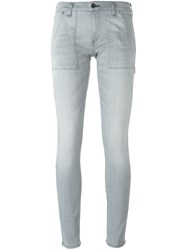 Rag And Bone Super Skinny Jeans Grey