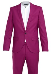 Noose And Monkey Ellroy Suit Purple Pink