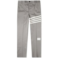 Thom Browne Unconstructed Twill 4 Bar Chino Grey