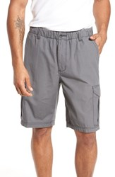 Tommy Bahama Big And Tall Island Survivalist Cargo Shorts Fog Grey