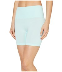 Jockey Slimmers Seamfree Shorts Icy Teal Women's Shorts Blue