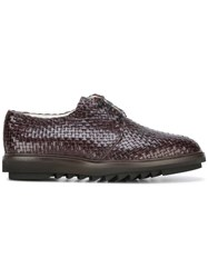 Dolce And Gabbana Woven Shoes Brown