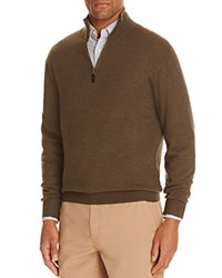 Bloomingdale's The Men's Store At Merino Wool Half Zip Sweater Compare At 98 Green