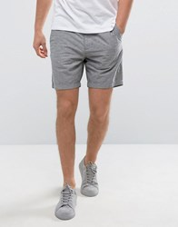 Hollister Prep Chino Shorts Neppy In Grey Stone