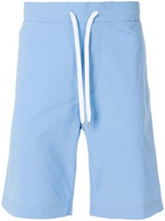 Ermanno Scervino Cotton Drawstring Shorts Blue