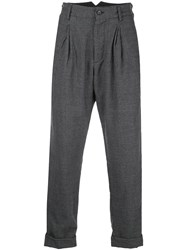 Engineered Garments Houndstooth Print Loose Fit Trousers 60