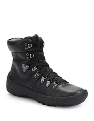 Gentle Souls Carlisle Leather Lace Up Boots Black