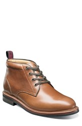 Florsheim Foundry Leather Boot Saddle Tan Leather