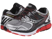 Saucony Redeemer Silver Black Red Men's Running Shoes