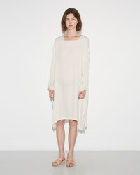 Black Crane Dome Dress Cream