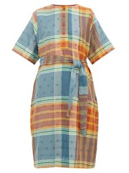 Ace And Jig Arena Button Front Cotton Dress Multi
