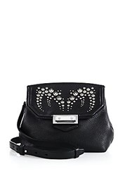 Alexander Wang Marion Prisma Studded Leather Crossbody Bag Black