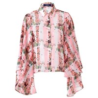 Supersweet X Moumi Gypsy Shirt White Pink Purple