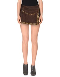 G.Sel Mini Skirts Cocoa