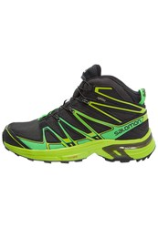Salomon Xchase Gtx Walking Boots Asphalt Peppermint Granny Green Black