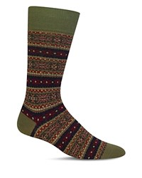 Polo Ralph Lauren Reindeer Fair Isle Dress Socks Green