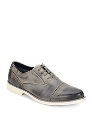 Steve Madden Tobyas Chelsea Leather Oxford Grey