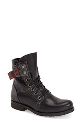 Women's Fly London 'Stay' Boot Black Rug Leather
