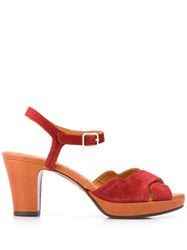 Chie Mihara Betra Sandals Red