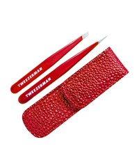 Tweezerman Candy Apple Red Petite Tweeze Set Unisex