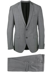 Hugo Boss Formal Suit Grey