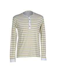 Officina 36 Topwear T Shirts Men Light Green