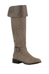 Nature Breeze Ralph Knee High Boot Beige